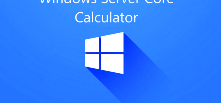 #BeepBeep: Toolbox – Calculadora de Licenciamento Windows Server